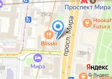 Компания «Московский дом моды Вячеслава Зайцева» на карте
