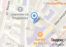 Компания «Бизнес-класс аудит» на карте