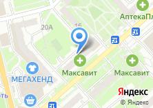 Компания «Сетунь» на карте