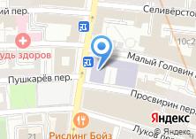 Компания «Пушкинский лицей №1500» на карте