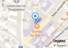Компания «Строящееся административное здание по ул. Мясницкая» на карте