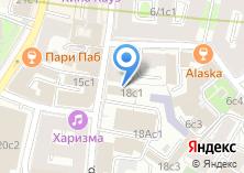 Компания «Московская федерация греко-римской борьбы» на карте
