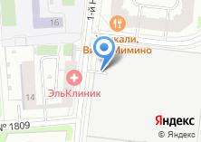 Компания «Шиномонтажная мастерская на Нагатинском 1-ом проезде» на карте