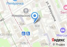 Компания «УНИСЕРВ» на карте