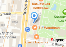 Компания «Pizza Hut» на карте