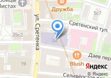 Компания «МГУУ» на карте