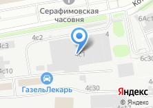 Компания «Диас-сервис» на карте