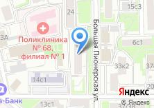 Компания «ОДС Инженерная служба района Замоскворечье» на карте