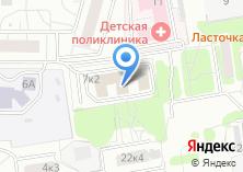 Компания «Полиграф-Сервис» на карте