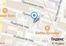 Компания «Водевиль» на карте