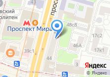 Компания «МЕТРОБАНК» на карте