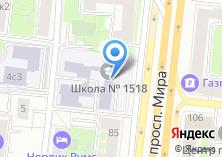 Компания «Гимназия №1518» на карте