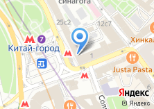 Компания «Мастерская по ремонту обуви и изготовлению ключей на Лубянском проезде» на карте