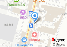 Компания «ПромКровСтрой» на карте