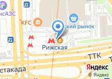 Компания «Станция Рижская» на карте