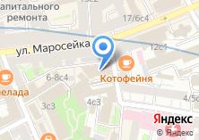 Компания «БАНК ИНТЕЗА» на карте