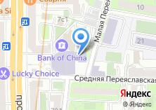 Компания «Министерство потребительского рынка и услуг Московской области» на карте