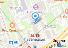 Компания «Законодекс» на карте