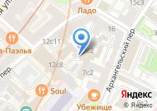 """Компания «""""Ресурс""""» на карте"""