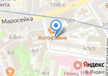 Компания «Прио-Внешторгбанк» на карте