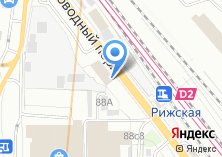 Компания «Рижский рынок» на карте