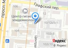Компания «Евразийская консультационно-юридическая группа» на карте