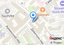 Компания «Мосинжпроект» на карте