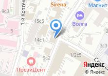 Компания «Интердорстрой» на карте