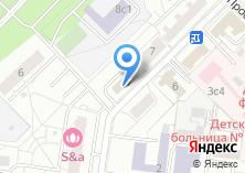 Компания «Дента-1» на карте
