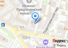 Компания «Московский спутник» на карте