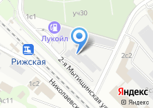Компания «АКБ Кранбанк Московский филиал» на карте