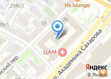 Компания «БизнесМенеджмент» на карте