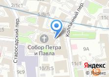 Компания «Евангелическо-Лютеранская Церковь Европейской части России» на карте