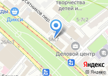 Компания «Посольство Республики Казахстан в РФ» на карте