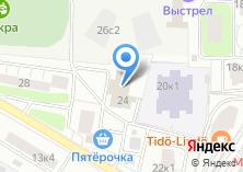 Компания «Постскриптум» на карте