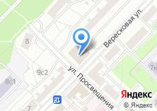 Компания «Магазин цветов на Вересковой» на карте