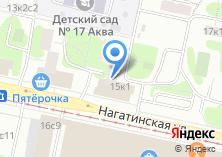 Компания «Магазин фруктов и овощей на Нагатинской» на карте