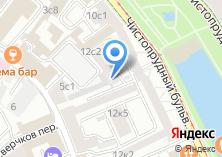 Компания «Автомойка на Потаповском переулке» на карте