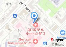 Компания «Детская городская больница №21» на карте