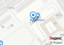 Компания «Тетрон» на карте