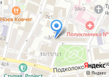 Компания «Open!Design» на карте