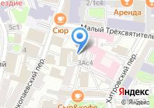 Компания «Представительство Правительства Саратовской области при Правительстве РФ» на карте