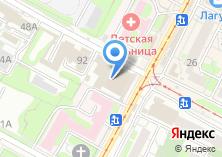 Компания «Мясново» на карте