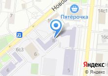 Компания «Голдстар» на карте