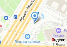 Компания «Продуктовый магазин на проспекте Мира» на карте