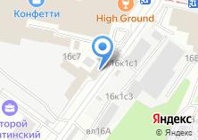 Компания «Автомойка на Нагатинской» на карте