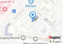 Компания «КЭМ» на карте