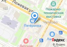 Компания «Линолеум» на карте