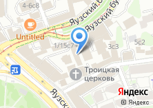Компания «МосГорСтрой» на карте