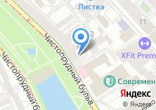Компания «Машков» на карте